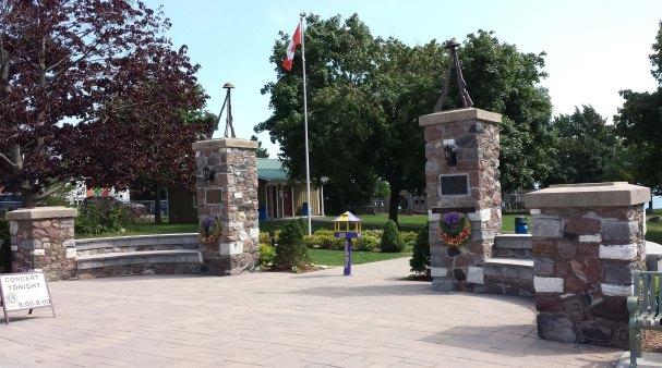 Wellington Park Memorial Gates, Prince Edward County